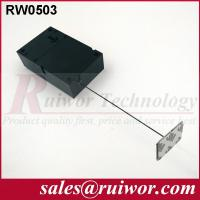 Wholesale Ipad Security Tether With Sticking Metal Plate , Shop Retail Anti Theft Pull Box  from china suppliers