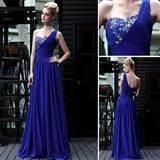 Wholesale DORISQUEEN Stretch Velvet One Shoulder Beaded Prom Dress from china suppliers