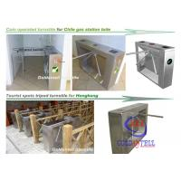 Wholesale Scenic Entrance Three Arm Tripod Turnstile gate automation systems For School And Tourism from china suppliers