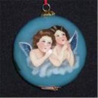 China Inside-Painting Glass Christmas Ornaments on sale