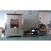 Stainless Steel Flammability Testing Equipment  Fireproof Coating Materials