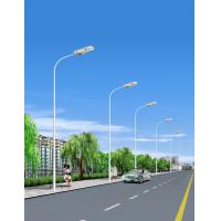 China double arm solar e40 led street light manufacturer factory galvanized outdoor led lighting on sale