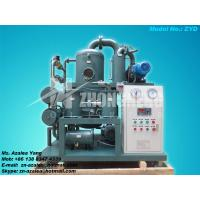 China Series ZYD Double-stage Vacuum Insulating Oil Purifier on sale