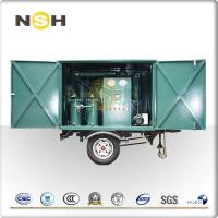 China High Efficiency Insulating Oil Purifier Vacuum Transformer 600 - 18000L/H Flow Rate on sale