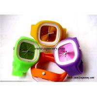 Wholesale 2014 Popular fashion design silicone jelly watch from China factory from china suppliers