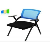Wholesale Training Chair Office Furniture Conference Student Training Chair With Tablet Writing Pad from china suppliers
