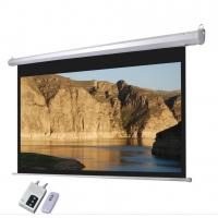 Wholesale Cynthia Motorized Projector Screens HD Home & Movie Projection Screen Electric 84 Inch from china suppliers