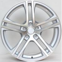 Wholesale 20inch Staggered Rims For Audi A8 / Silver  Machined Customized 20 inch  5x112 Forged Alloy Rims from china suppliers