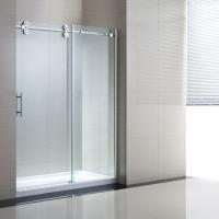 China Tempered Sliding Glass Door Shower Enclosure Replacement , 48 Shower Door on sale
