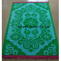Wholesale reactive printed beach towel with fringes , OEM design,100% cotton material from china suppliers