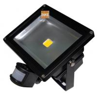 Wholesale 50W IP65 Exterior LED Flood Lights, with black/grey/white Infrared Motion Sensor from china suppliers