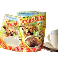 Wholesale Reclosable Colored Ziplock Zipper Plastic Bags / Standup Dog Pet Food Packaging Pouches from china suppliers