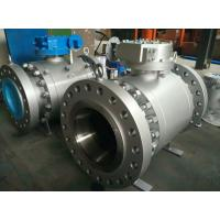 Wholesale ENP Xylan Coated Forged Trunnion Mounted Ball Valve Reduced Port  B16.10 Vent And Drain from china suppliers