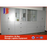 Modren Steel File Shelving Systems storage shelving units With Drawer Manufactures