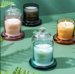 Aromatherapy Party Glass Candle Holder Home Decoration Christmas Candle Jar
