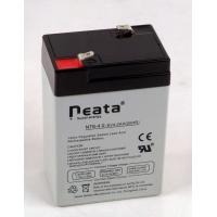 China Lead Acid Battery 6V-4ah (ISO, CE, UL, RoHS) (NT6v4ah) on sale