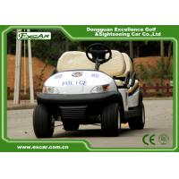 Wholesale Convenient 4 Wheel Electric Security Vehicles Without Roof , 1 Year Warranty from china suppliers