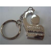 China Metal cartoon designer key chain, China metal gift factory for small order MOQ 300pcs on sale