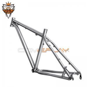 Wholesale Ti3AL2.5V / Ti6Al4V Titanium Mtb Frame , 27.5er Titanium Cyclocross Frame from china suppliers