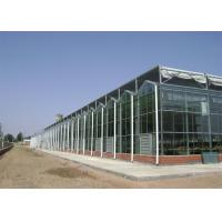 Agricultural Arched PC Sheet Greenhouse For Planter High Roof Drainage Efficiency