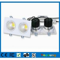 China 2x6W 30°/60° dimmable COB led downlight cool white waterproof bathroom lights on sale