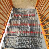 Buy cheap aluminum metal outside exterior stair steps for safety from wholesalers