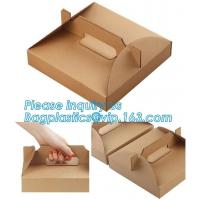 China White Style Simplicity Cheap Pizza Box Paper Carton Box With Logo,Custom Printing Paper Cake Box , Cake Box Packaging , on sale