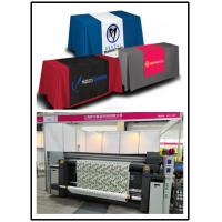 China Table Cover Digital Fabric Printing Machine With Three Epson 4720 Print Heads on sale