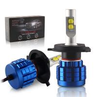 China H4 H7 9005 Led Replacement Headlight Bulbs 100w Q10 6500K With 2 Years Warranty on sale
