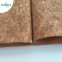Wholesale 53'' Cork Leather Fabric Customized Color 0.4±0.05mm Thick For Shoes Application from china suppliers