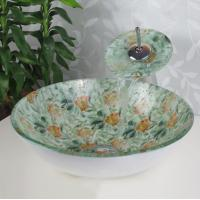 Wholesale 2016 new style bathroom glass vessel sink bowl sanitary ware manufacturer from china suppliers