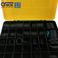 Wholesale Rubber AS568 Excavator O Ring Box NBR HNBR FKM Anti Toxic from china suppliers