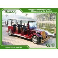 Wholesale Excar red 48V Electric Classic Cars elegant mini electric sightseeing car from china suppliers