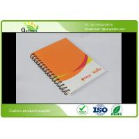 Quality Glossy Lamination A5 Spiral Bound Notebook With 4C Full Colors CMYK Printing for sale