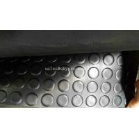 Tactile Rubber Mats Paving Round Stud Anti - Skid Round Stud Rubber Floor Matting