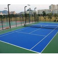 Wholesale Outdoor / Indoor Tennis Court Flooring MaterialSlip Resistant Cushioned For College from china suppliers
