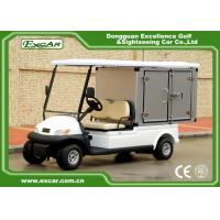 Wholesale EXCAR 2 seater Electric Utility Carts Hotel Buggy With Customized Cargo LED Headlight from china suppliers