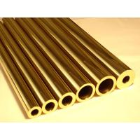Quality C44300 / CuZn28Sn1As / CZ111 Yellow Copper Pipes , Seamless Brass Tube for sale
