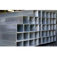 Wholesale Galvanized Weld Rectangular Steel Tube Cold Drawn with Normal Carbon Steel , ASTM-A53 BS1378 from china suppliers