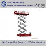 High rise scissor lift for light maintenance