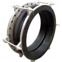 RUBBER EXPANSION JOINT WITH CONTROL RODS