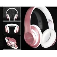 Wholesale Best Headset with Mic and fm, Best quality headset, pink color headset from china suppliers