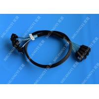 Wholesale 8 Inch SATA III 6.0 Gbps 7 Pin Female To Female Data Cable With Locking Latch Blue from china suppliers