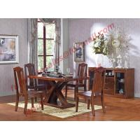 Wholesale Luxury Design for Solid Wooden Furniture Dining Room Set from china suppliers