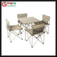 folding camping table chair set bistro tables tall tables