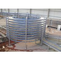 Wholesale High Capacity Food Cooling Conveyor Chain Spiral Conveyors New Condition from china suppliers