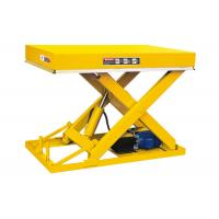 Wholesale Fixed Stationary Scissor Lift Table 1 Ton Industrial Use Smooth Operation from china suppliers