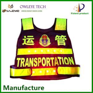 Wholesale reflective vest/ safety LED safety vest/Hi vis reflective safety vest from china suppliers