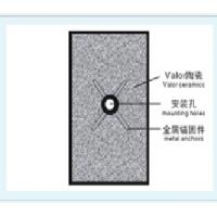China wear/abrasion resistant Ceramic Tile on sale