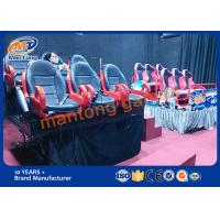 China Dynamic 7d Movie Theater , Interactive 7D Cinema Equipment Large Screen on sale